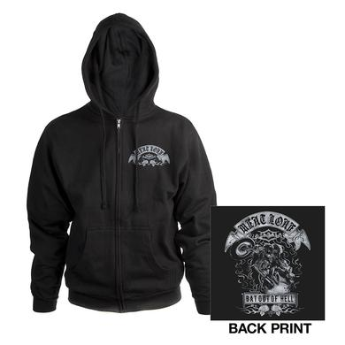 Meat Loaf Bat out of Hell Zip up Hoody