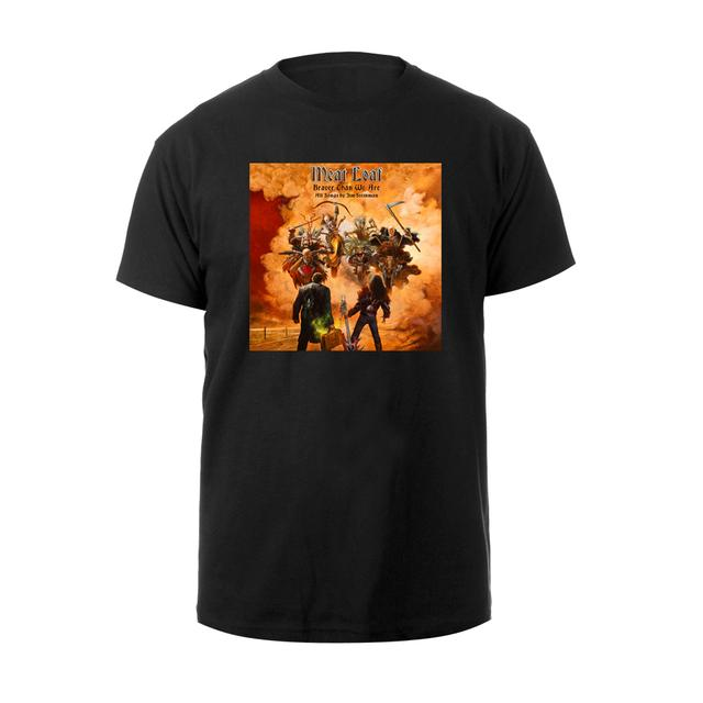 Meat Loaf Braver Than We Are Album Cover Tee