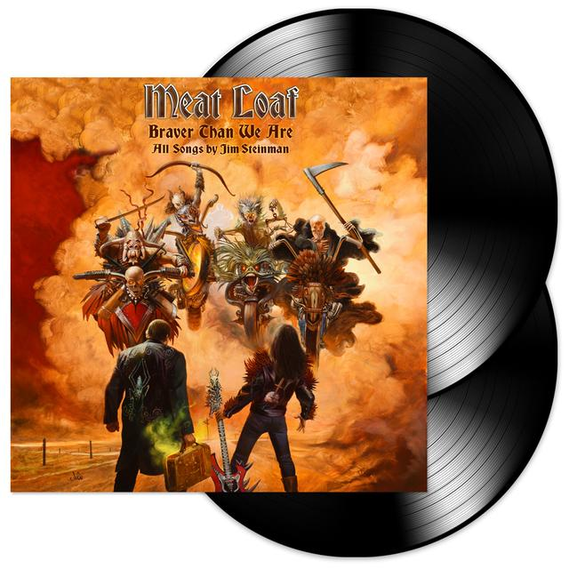 Meat Loaf Braver Than We Are 2LP