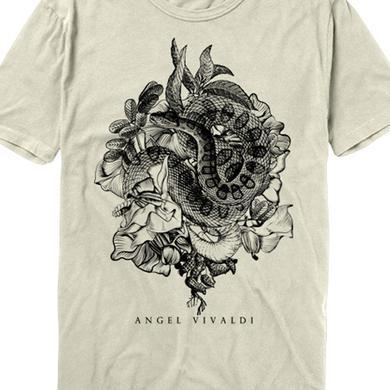 Angel Vivaldi Serpentine Flower Bed Tee (Cream)