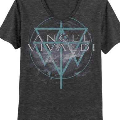 Angel Vivaldi Storm Vneck Tee (Dark Grey Heather)