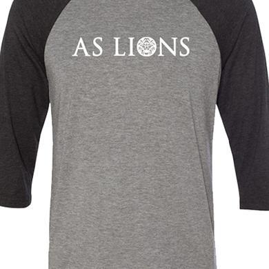 As Lions Logo Raglan