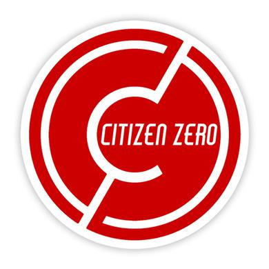 Citizen Zero CZ Circle Logo Sticker 3in