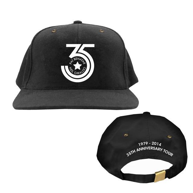 Pat Benatar & Neil Giraldo 35 Year Anniversary Tour Hat