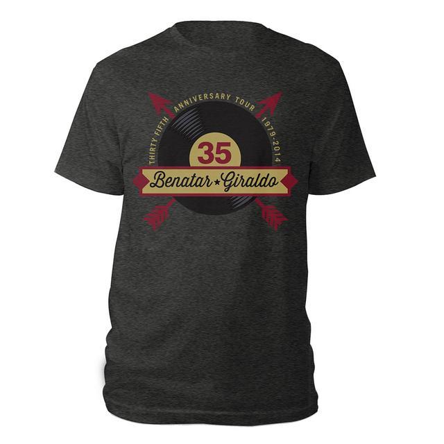 Pat Benatar + Giraldo 35 Anniversary Shirt