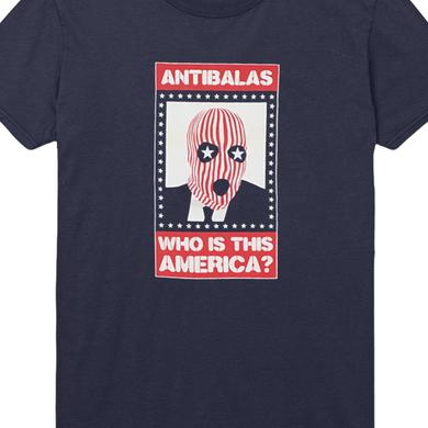 Antibalas Womens Who Is This America Tee (Navy)