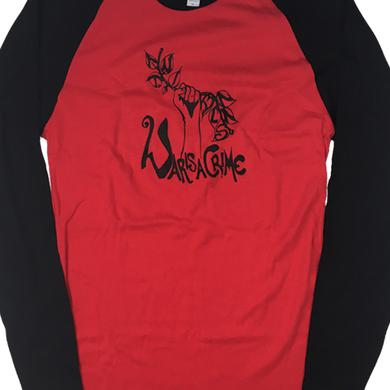 Antibalas Womens War Is A Crime Raglan (Red/Black)