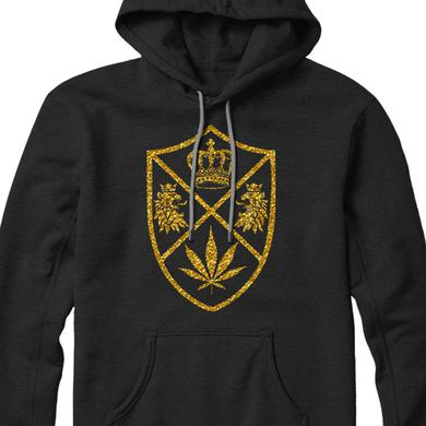 King Chip Crest Pullover Hoodie (Black)
