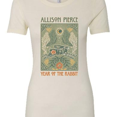 Allison Pierce Rabbit Womens Tee (Ivory)