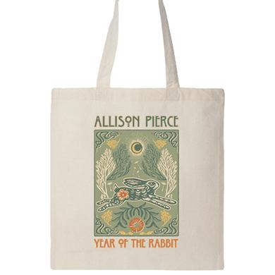 Allison Pierce Rabbit Tote Bag (Natural)
