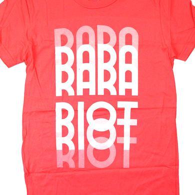 Ra Ra Riot Girl's Fade Tee (Coral)