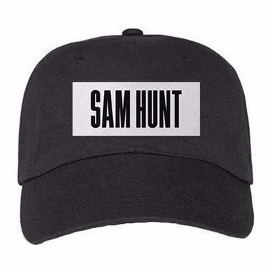 Sam Hunt SH Block Font Hat
