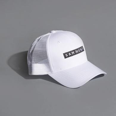Sam Hunt White Trucker Hat