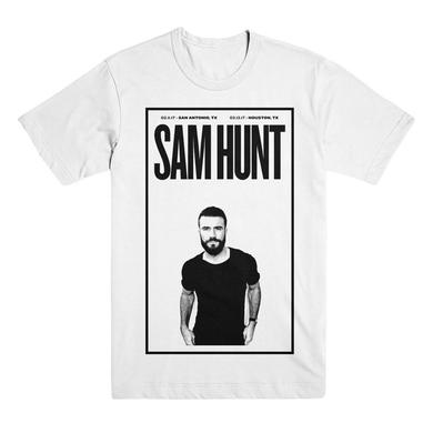 Sam Hunt Black x White Photo Tee