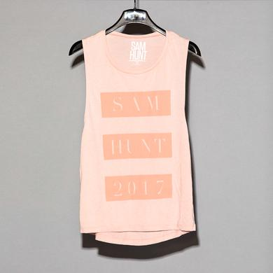 Sam Hunt Pink On Pink Tank