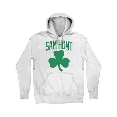 Sam Hunt White Shamrock SH '18 Hoodie