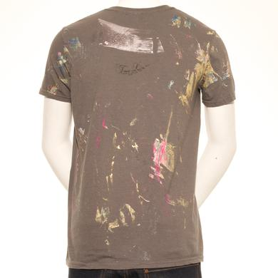 Debbie Harry Infrared Specs Hand Painted Unique Men's T-Shirt