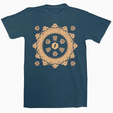 Grateful Dead SYF Mandala Cornell T-Shirt (Navy)