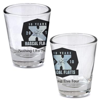 Rascal Flatts Shot Glass