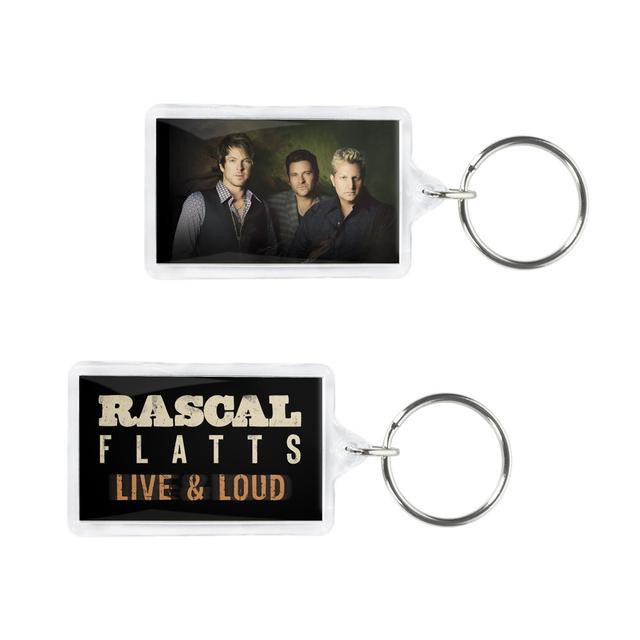 Rascal Flatts Live & Loud Photo Keychain