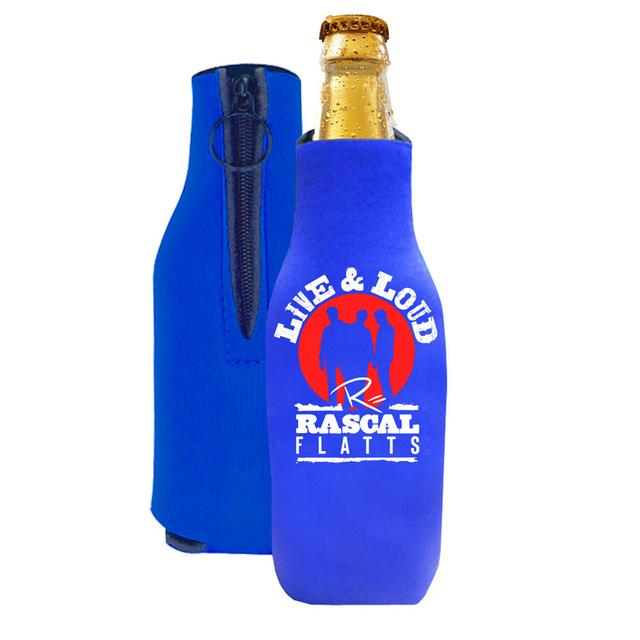 Rascal Flatts Live & Loud Bottle Coozie
