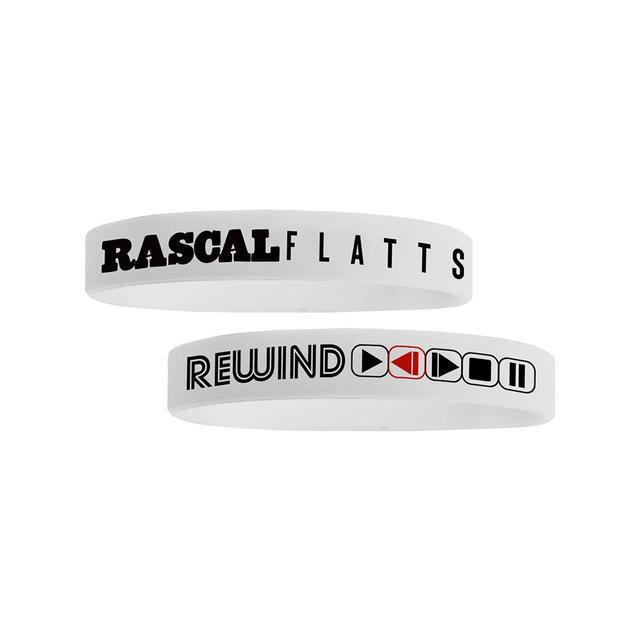 Rascal Flatts Rewind Tour Wristband