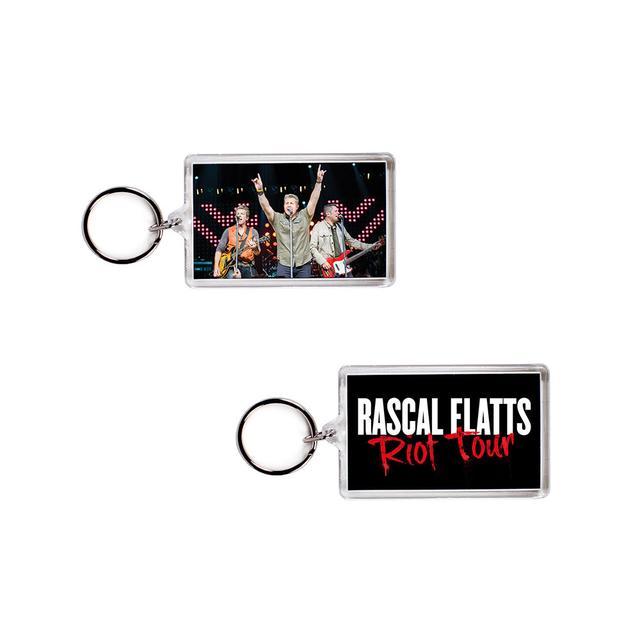 Rascal Flatts Riot Tour Keychain