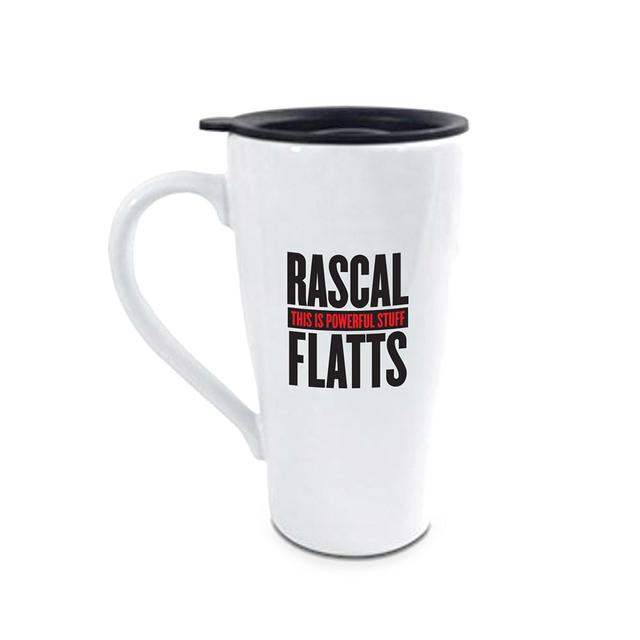 Rascal Flatts Powerful Travel Mug