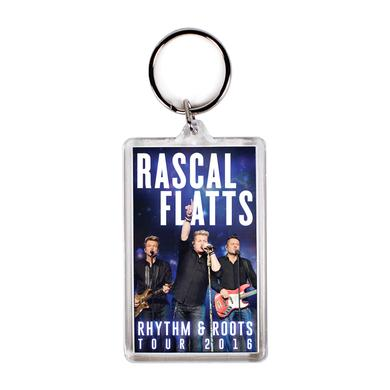 Rascal Flatts Rhythm And Roots Keychain