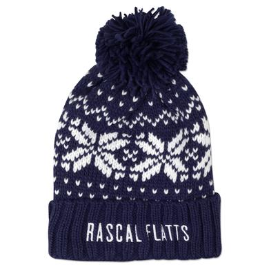 Rascal Flatts holiday knit beanie