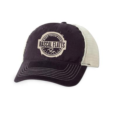 Rascal Flatts Riot Tour Trucker Hat