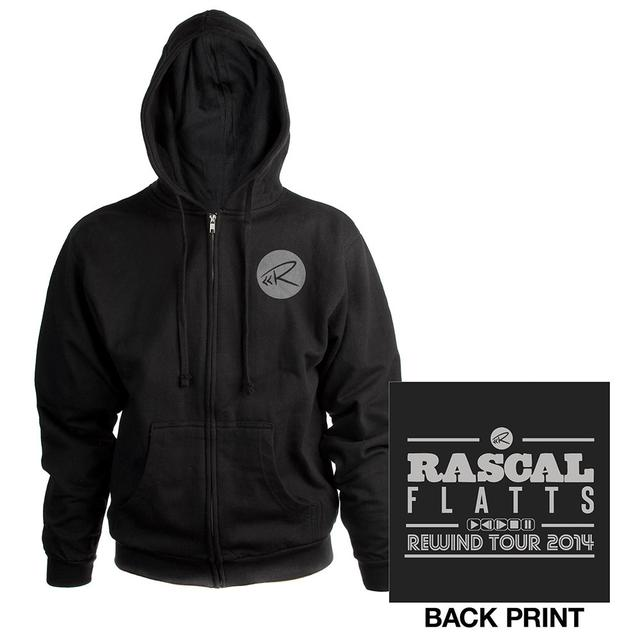 Rascal Flatts Rewind Zip Hoodie