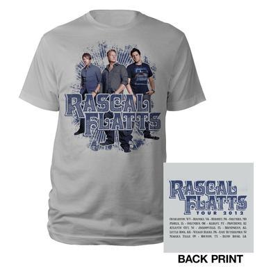 Rascal Flatts Burst Tour T-Shirt