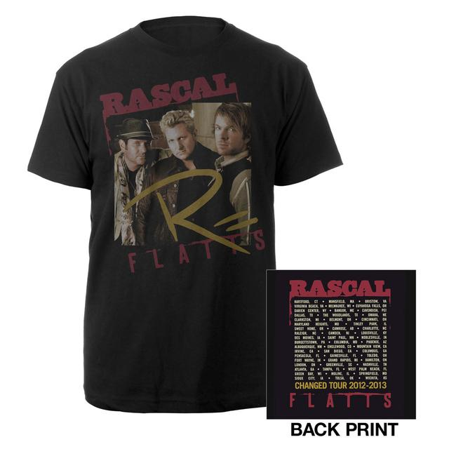 Rascal Flatts Changed Black Framed Tour Tee