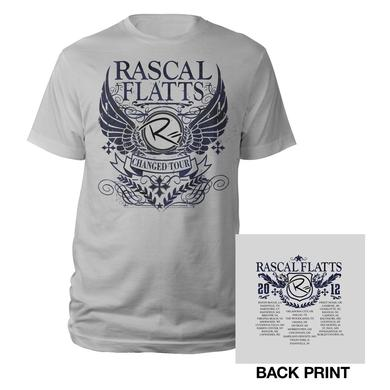 Rascal Flatts Changed Silver Crest Tour Tee