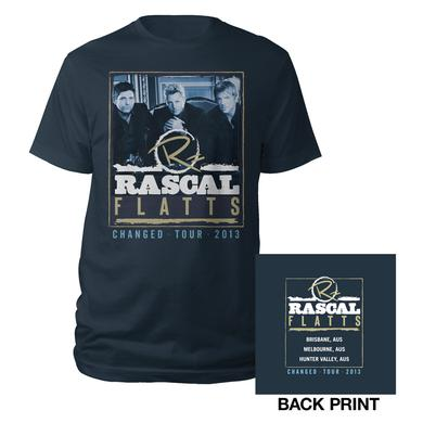 Rascal Flatts Changed Tour Photo Tee