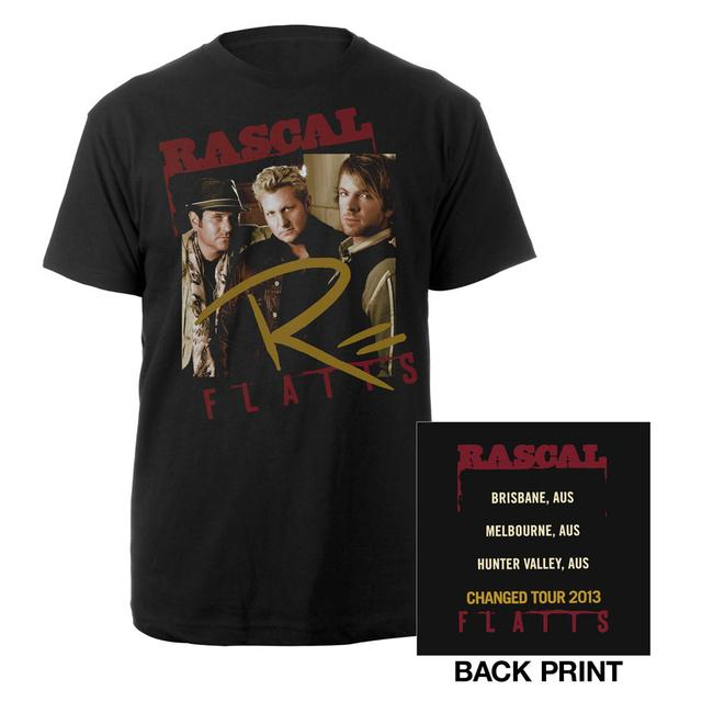 Rascal Flatts Changed Tour Black Framed Tee
