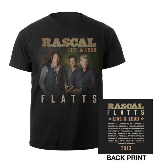 Rascal Flatts Live & Loud Youth Tee