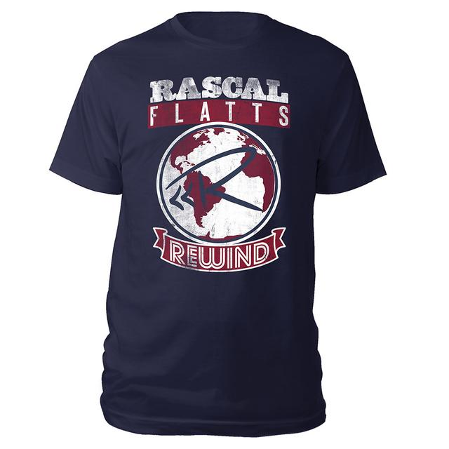 Rascal Flatts World Rewind Tee