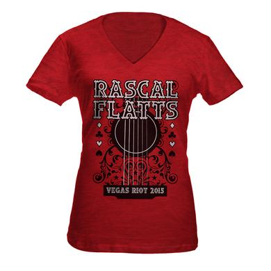 Rascal Flatts Scarlet Guitar Tee