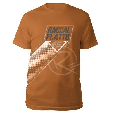 Rascal Flatts Texas Orange 2015 Tour Tee