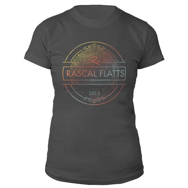 Rascal Flatts Riot Stamped Ladies Tee