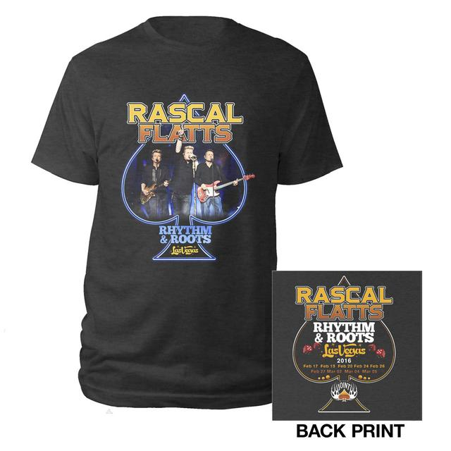 Rascal Flatts Ace Rhythm and Roots Tee