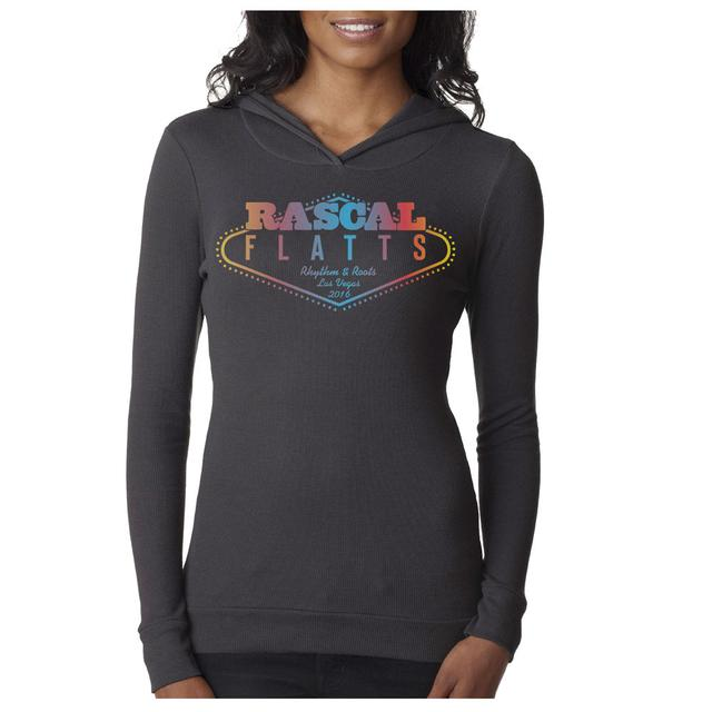 Rascal Flatts Vegas Long Sleeve Ladies Tee