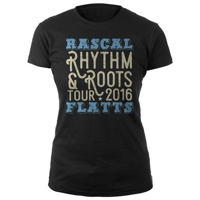 Rascal Flatts Rhythm & Roots Ladies Tee