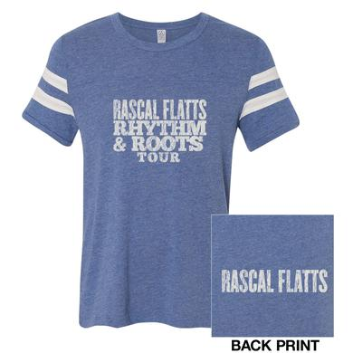 Rascal Flatts Rhythm & Roots Football tee