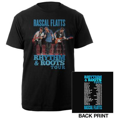 Rascal Flatts Rhythm & Roots Tour Tee