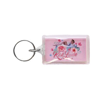 RaeLynn Bathtub Photo Keychain