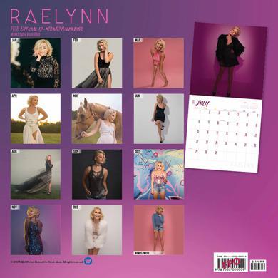 RaeLynn 2018 Calendar