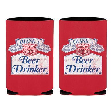 William Michael Morgan Beer Drinker Can Insulator